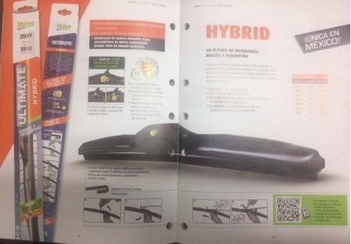 Imagen 1 de 2 de Pluma Limpiador 16  400mm Valeo Hybrid 178461