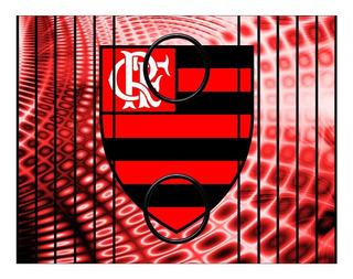Esteira Porta Copos Para Sofá Personalizado Flamengo