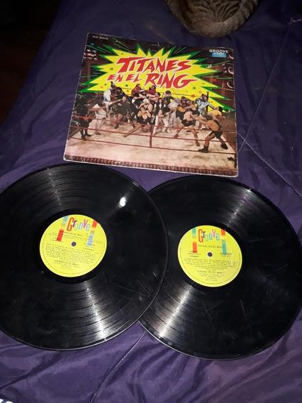 Discos Antiguos (2) Titanes En El Ring