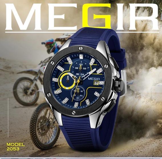 Relógio Social Megir 2053 Sports Edition