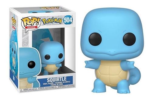 Funko Pop Squirtle Pokémon Games #504