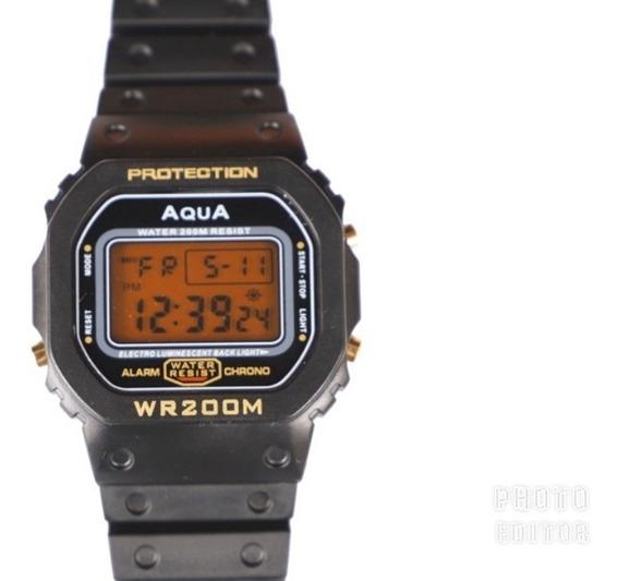 Kit 2 Relógios Aqua 1 Gp 477 + 1 Aq 81 Originais O F E R T A