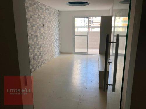 Imagem 1 de 24 de Apartamento Com 2 Dormitórios À Venda, 80 M² Por R$ 480.000 - Boqueirão - Praia Grande/sp - Ap0295