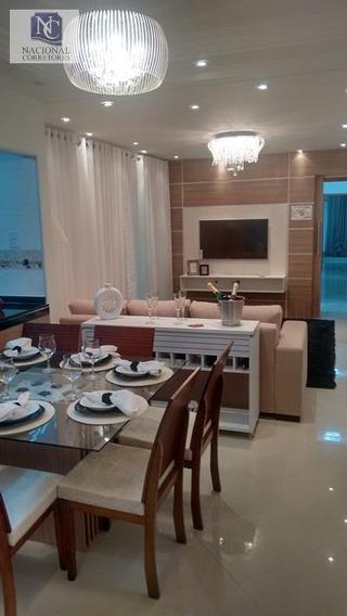 Apartamento Com 3 Dormitórios À Venda, 100 M² Por R$ 550.000,00 - Jardim Santo Antônio - Santo André/sp - Ap4258