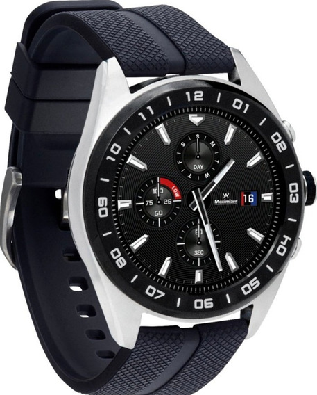 Lg W7 Acero Inoxidable Reloj Inteligente De Diseño Clásico
