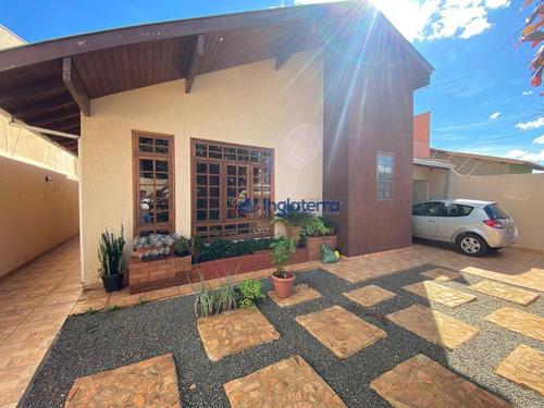 Casa À Venda, 170 M² Por R$ 700.000,00 - Monte Carlo - Londrina/pr - Ca1880