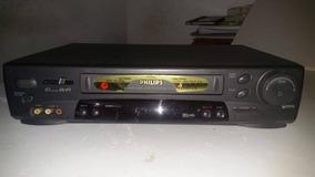 Vídeo Cassete Philips Vr 756 Funcionando