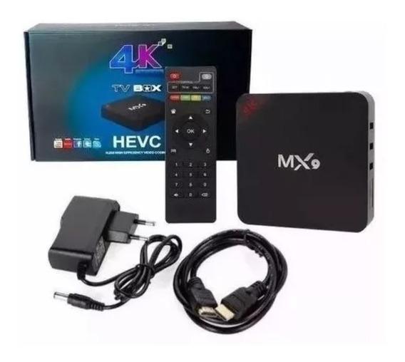 Tv Box Transforma Tv Em Smart Android 9.0 4gb/32gb