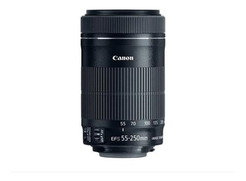 Imagem 1 de 9 de Lente Canon Ef-s 55-250mm F/4-5.6 Is Stm Pronta Entrega