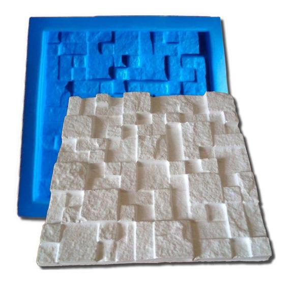 Forma 3d P/ Gesso De Plastico C/ Manta Borracha Eva Fdg-002
