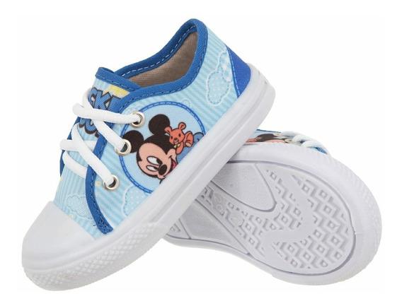 Tênis Mickey Infantil Promoção Preço Baixo