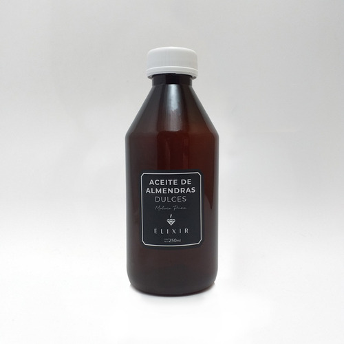 Imagen 1 de 3 de Aceite De Almendras 250ml Elixir Materia Prima Caba