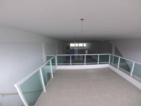 Salão Para Alugar, 740 M² Por R$ 15.000/mês - Matriz - Mauá/sp - Sl0031