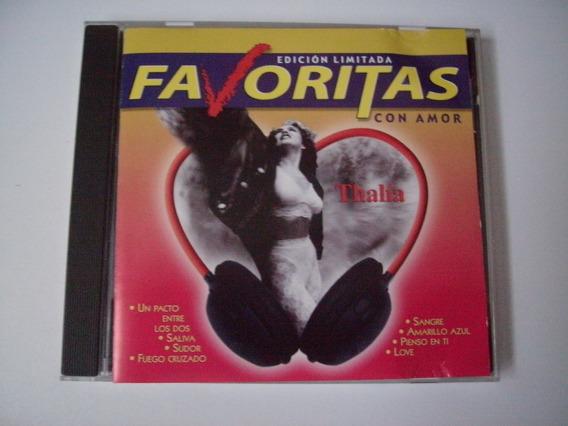 Thalía Cd Favoritas Con Amor 2002