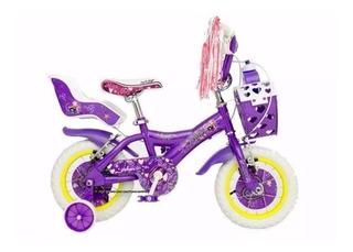 Bicicleta X-terra Rock Star Rodado 12 Nena Niña Planet Cycle