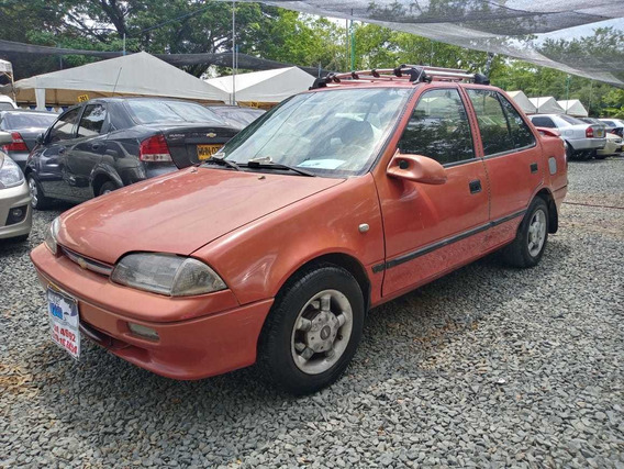 Chevrolet Swift Motor 1.3 Rojo Fuego 4 Puertas
