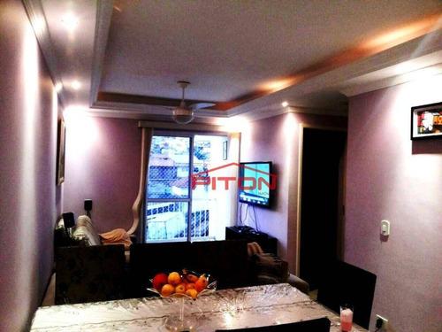 Apartamento Com 2 Dormitórios À Venda, 52 M² Por R$ 270.000,00 - Cangaíba - São Paulo/sp - Ap0548