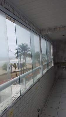 2 Dormitorios C/ Suite - Frente Mar- Churrasqueira Sacada