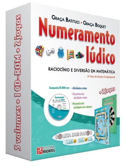 Coleção Numeramento Lúdico 2º Ano - C/ Cd - Matemática