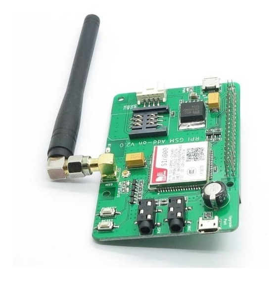 Raspberry Pi Gsm Gprs Sim800 Add-on V2.0 Fz1817