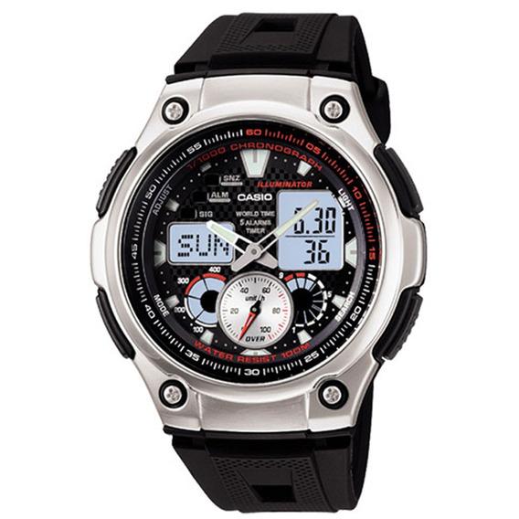 Relógio Casio Masculino Illuminator Aq-190w-1avdf
