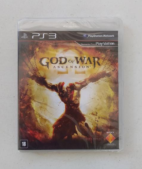 God Of War Ascension Ps3 - Português - Mídia Física - Novo
