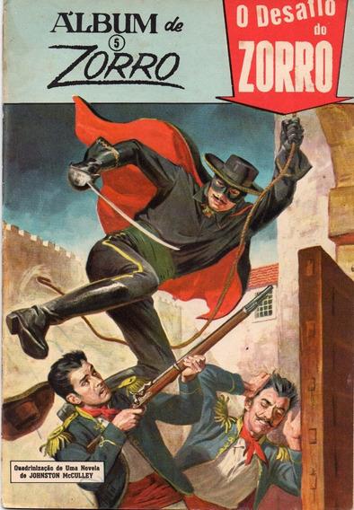 Álbum Do Zorro Nº 5 - Bom Estado - Frete Grátis
