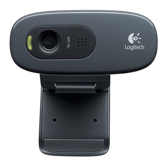 Webcam Logitech C270 Hd 720p Widescreen
