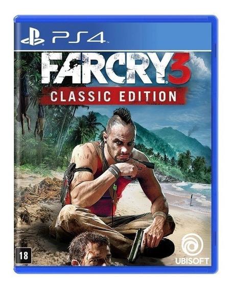 Far Cry 3 ( Classic Edition ) - Ps4 - Novo - Mídia Física