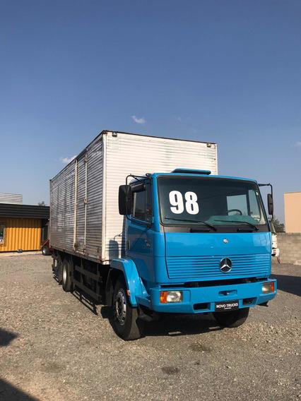 Mercedes-benz 1214 Bau Furgao 4x2 Toco 1998