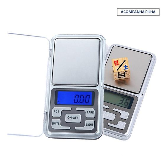 Balanca De Precisao Digital Mini Portátil Pesagem 0 A 500g