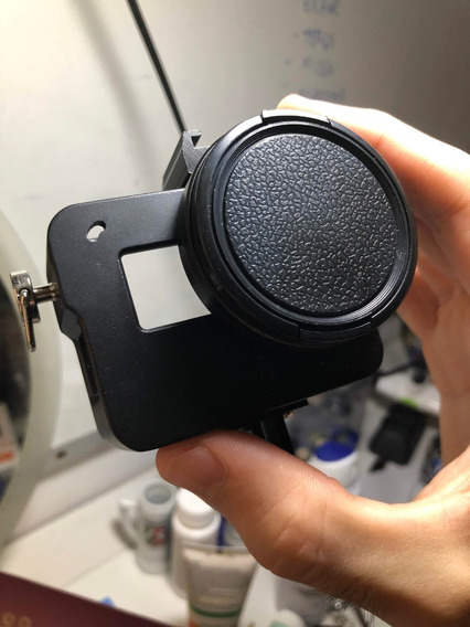 Suporte Gopro Hero 5 6 7 Black Encaixe P/ Microfone Externo