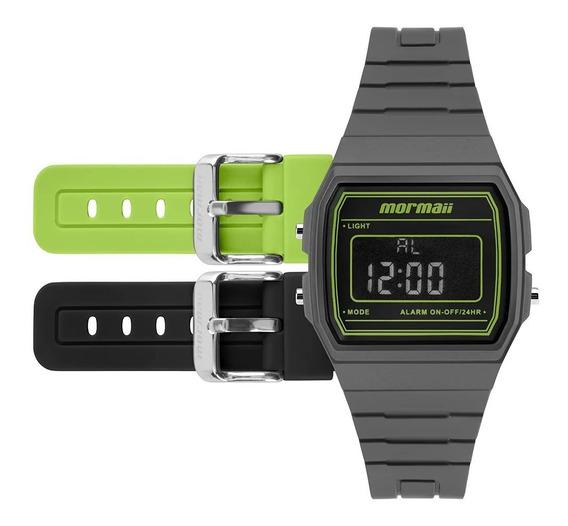 Relógio Mormaii Unissex Digital Troca Pulseira Original