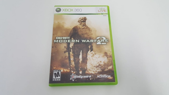 Call Of Duty Modern Warfare 2 Mw2 - Xbox 360 - Original