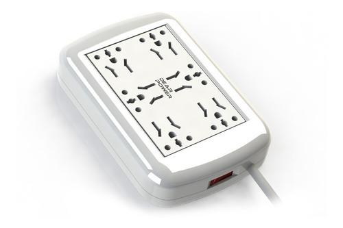 Zapatilla Electrica Multinorma Universal 6 Tomas Dear Power