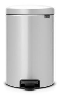 Cesto Newlcon 20l. Metal Grey 114069 Bazarney