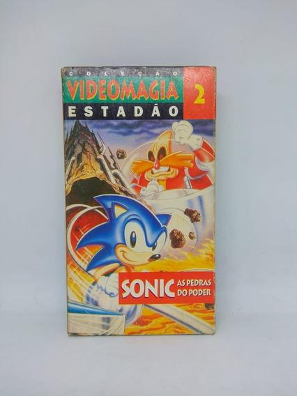 Fita Vhs Sonic Coleção Videomagia Estadão Vol. 2