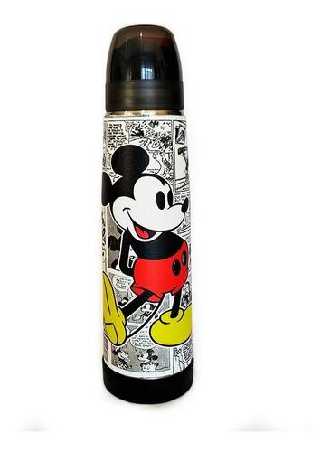 Termo Acero Inoxidable Lumilagro Luminox 1 Litro Mickey