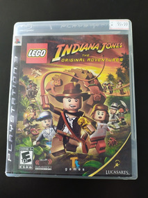 Jogo Ps3 Indiana Jones The Original Adventures Mídia Física