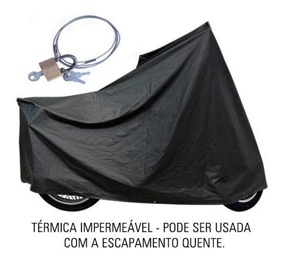Capa Térmica Moto C/ Cadeado Suzuki Intruder M800   Ctm4c