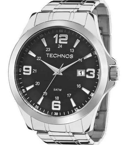 Relógio Technos Masculino Prata Classic 2115mkt/1p