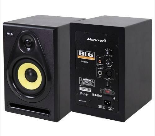 Monitor Studio Blg Bm-050a Par Activo