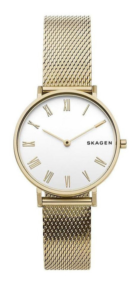 Relógio Skagen Feminino Hald Dourado - Skw2713/1dn