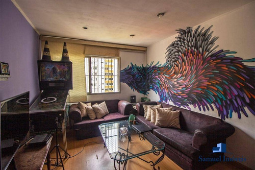 Apartamento Com 3 Dormitórios À Venda, 79 M² Por R$ 850.000,00 - Moema - São Paulo/sp - Ap3963