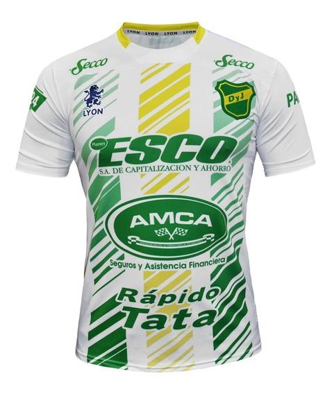 Camiseta Alternativa Defensa Y Justicia Lyon 2020 Blanca