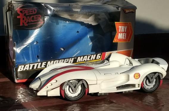 Auto Juguete Meteoro Mach 6 - No Mach 5 Gran Tamaño Sonido