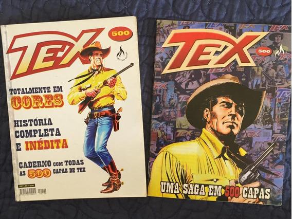Tex 500 - Os Demônios Da Noite E Encarte Uma Saga Em 500