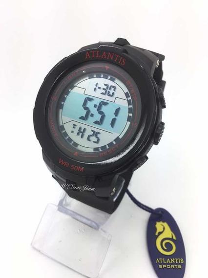 Relógio Atlantis Digital Sport Prova D´água G7460