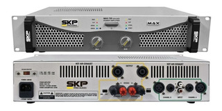 Skp Max 720 Amplificador De Potencia 350w+350w Rms 4 Ohmp