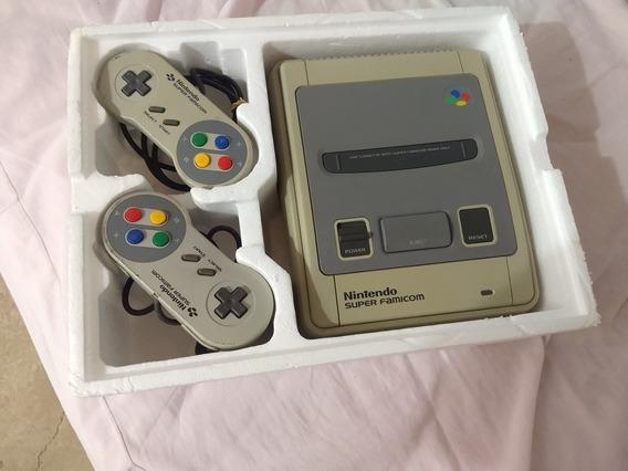 Super Famicom Na Caixa Com 10 Jogos